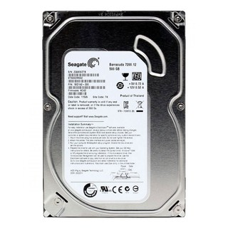 Ô cư ng ma y ti nh HDD 500gb Seagate, ba o ha nh 2 năm thumbnail