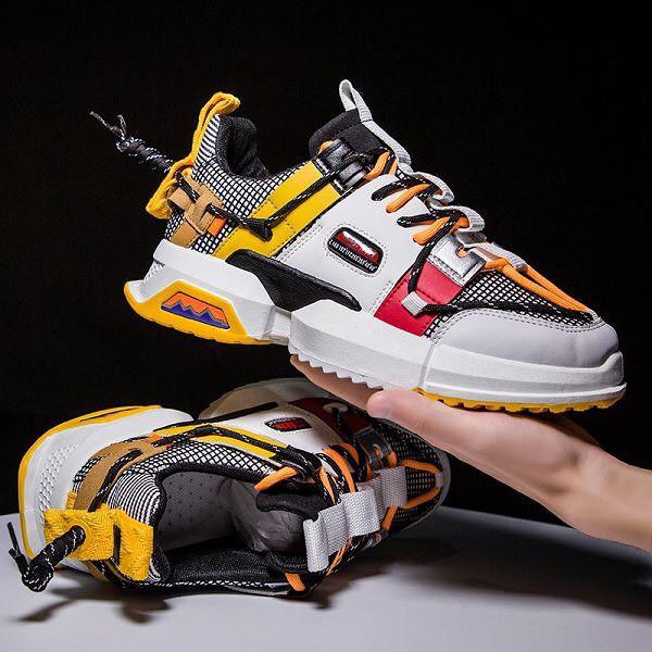 Giày Sneaker Thể Thao Nam G08 Phong Cách HIP HOP Đi Chơi Cực Chất
