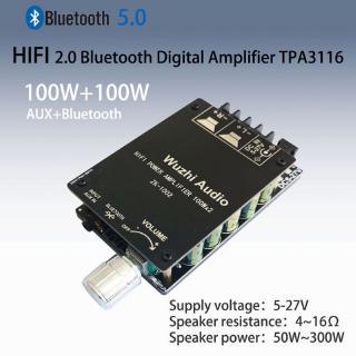 Bảng Mạch Khuếch Đại Âm Thanh Kỹ Thuật Số Tpa3116 Mini 100w Zd-1002 Hifi 2.0 Bluetooth 5.0