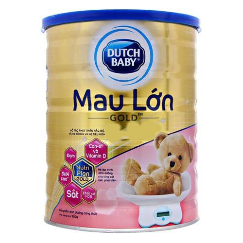 Sữa bột Dutch Lady Mau Lớn Gold 900g date T9/2019
