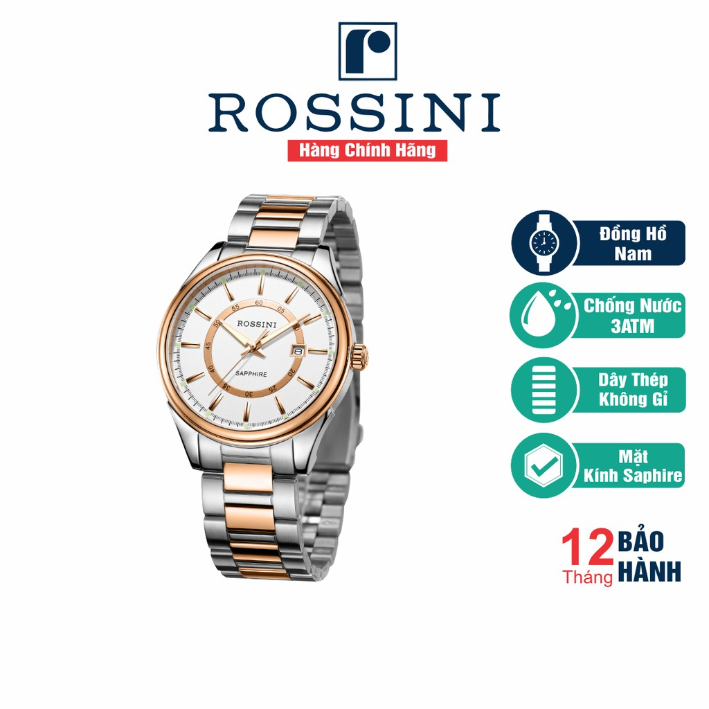 Đồng hồ đeo tay nam Rossini - 6577T01A
