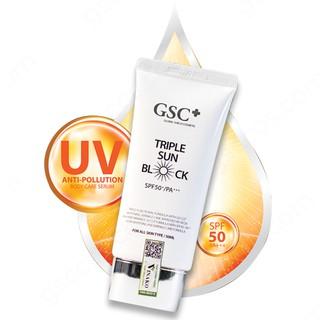 Kem chống nắng GSC Triple Sun Block SPF 50+ PA+++ chính hãng thumbnail