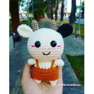 Móc Khóa Thú Len Cute – Thú Len Handmade