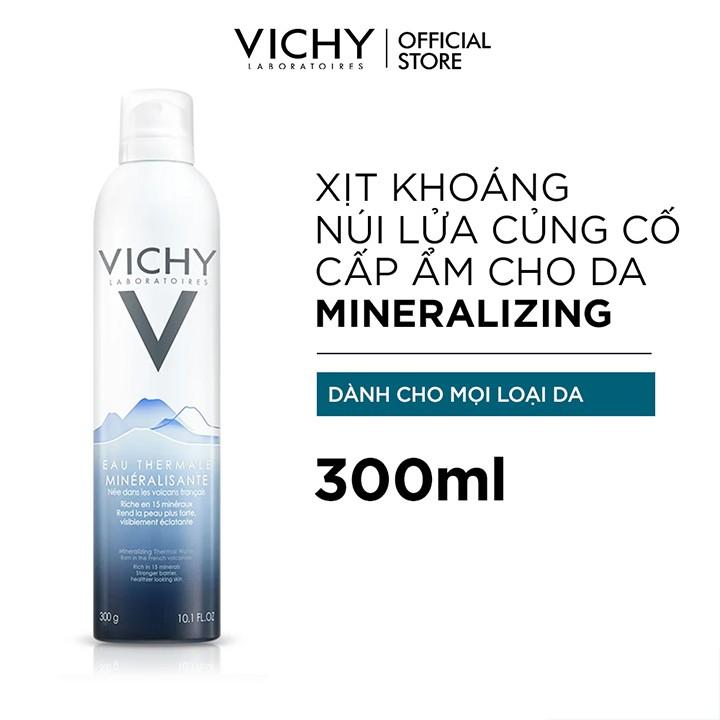 [Mã FMCGMALL giảm 8% đơn 250K] Bộ xịt khoáng dưỡng da Vichy Mineralizing Thermal Water
