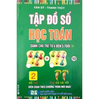 Sách - Combo 3 quyển Tập Đồ Số Học Toán (Dành Cho Trẻ Từ 5 Đến 6 Tuổi) thumbnail