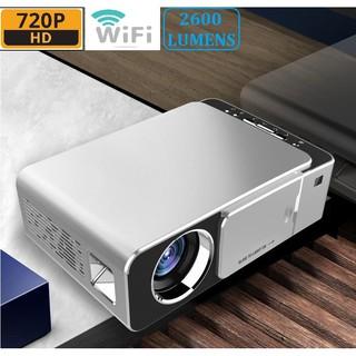 Máy chiếu Gia Đình phiên bản wifi Cao Cấp T6 Độ phân giải thật 720P