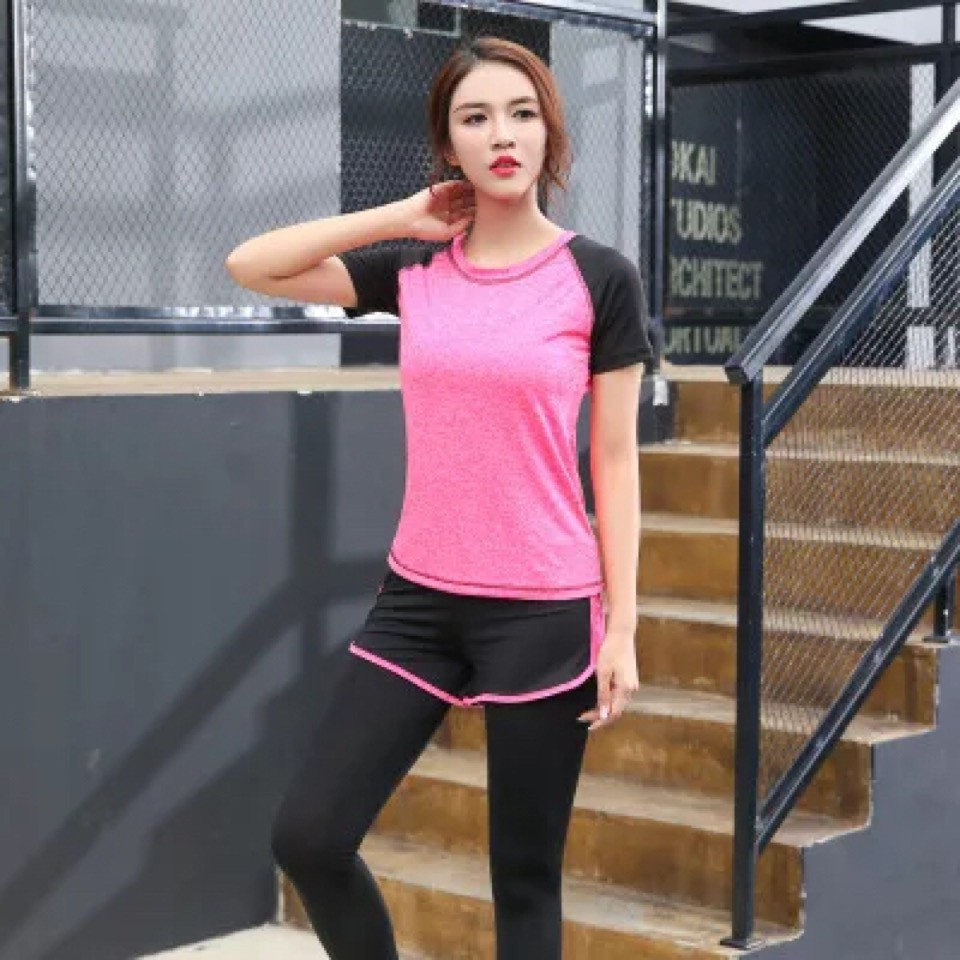 Bộ quần áo tập Gym, Yoga, Aerobic AL318