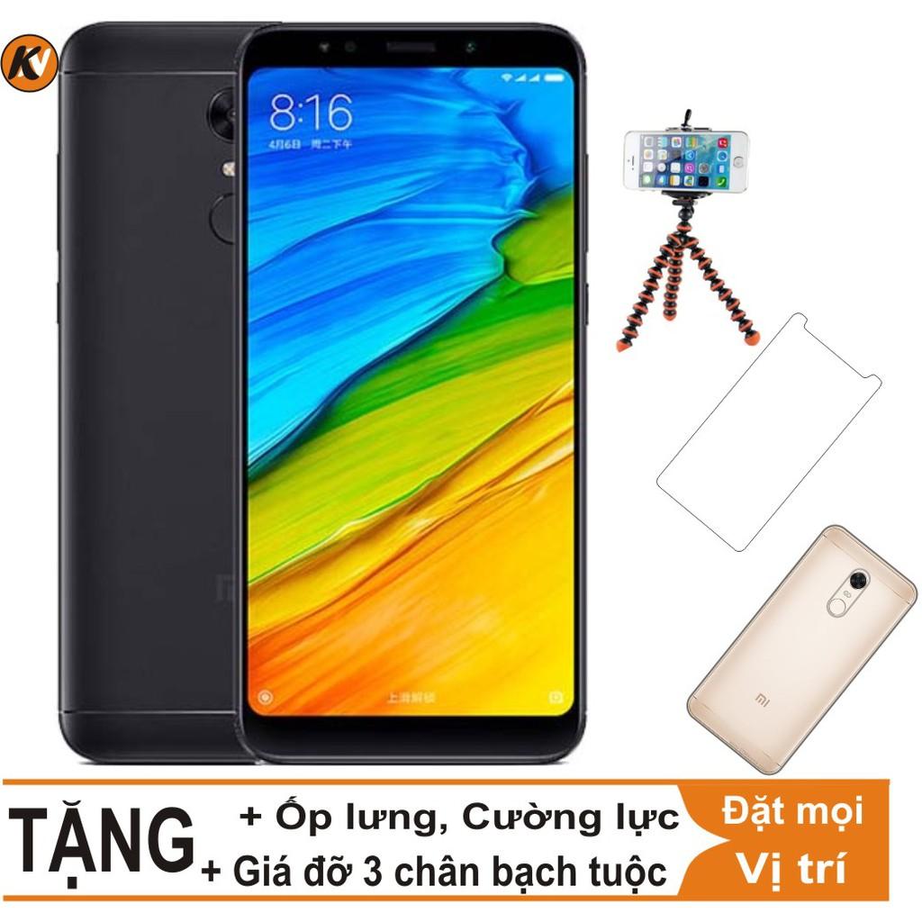 Combo Điện thoại Xiaomi Redmi 5 Plus - 32GB Ram 3GB - Hàng nhập khẩu + Cường lực + Ốp lưng + Giá đỡ - 3452724 , 844420191 , 322_844420191 , 4400000 , Combo-Dien-thoai-Xiaomi-Redmi-5-Plus-32GB-Ram-3GB-Hang-nhap-khau-Cuong-luc-Op-lung-Gia-do-322_844420191 , shopee.vn , Combo Điện thoại Xiaomi Redmi 5 Plus - 32GB Ram 3GB - Hàng nhập khẩu + Cường lực + Ố
