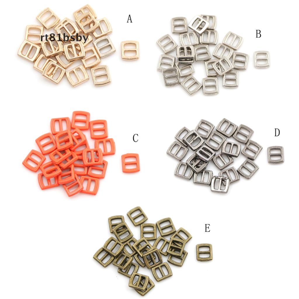 [rt81bsby] 10pcs Mini Metal Buckle DIY Doll Dress Patchwork Handmade Craft Sewing Accessories [rt81bsby]