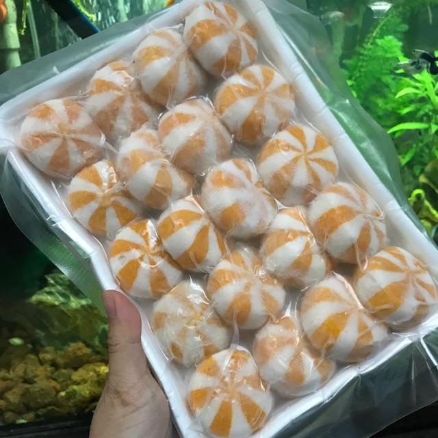 Viên thả lẩu túi riêng (Trứng nhím/ trứng cua/ phô mai)