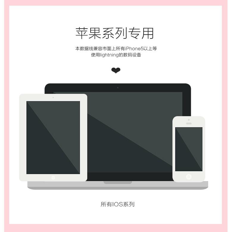 Apple Dây Cáp Sạc Nylon Bện 1.5m Cho Iphone 11 8 7 6