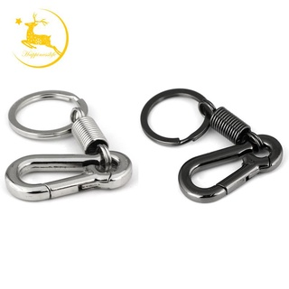 Sturdy Carabiner Key Chain Key Ring ed Key Chain Spring Key Chain Business Waist Key Chain, Sier