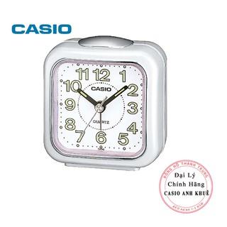 Đồng hồ để bàn Casio TQ-142-7DF có báo thức, dạ quang ( 7.7×7.2×4.9 cm )