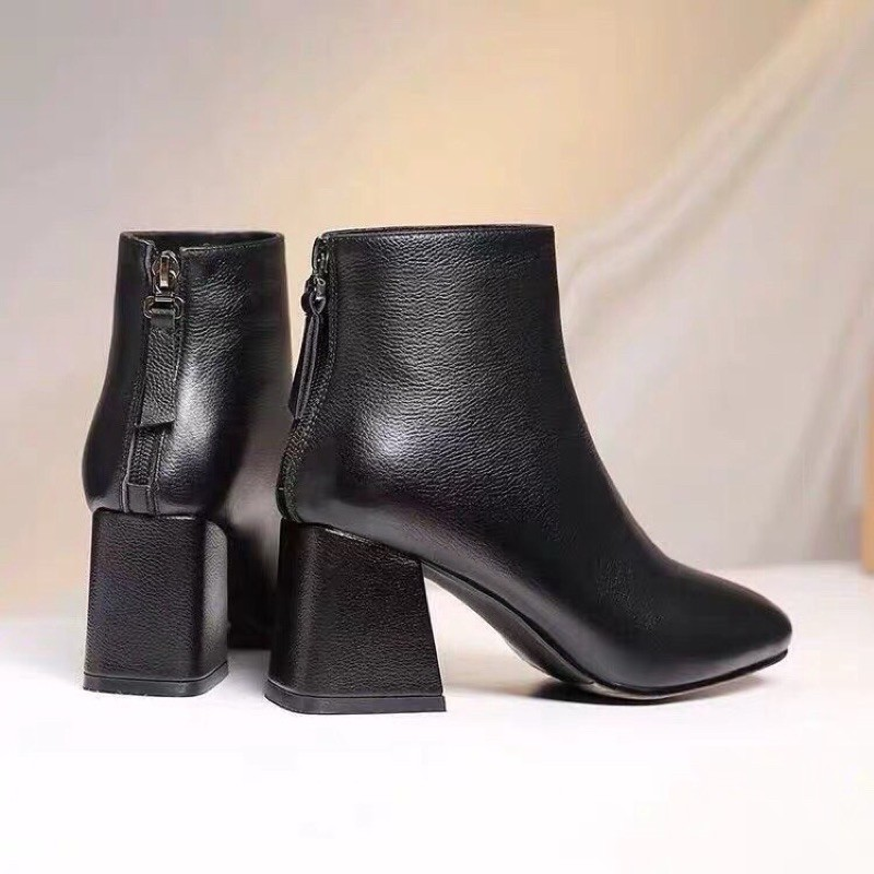 Boot da nữ công sở chất da đẹp