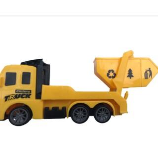 Mô hình xe tải đồ chơi dành cho bé size nhỏ có bánh đà, siêu ưu đãi 2