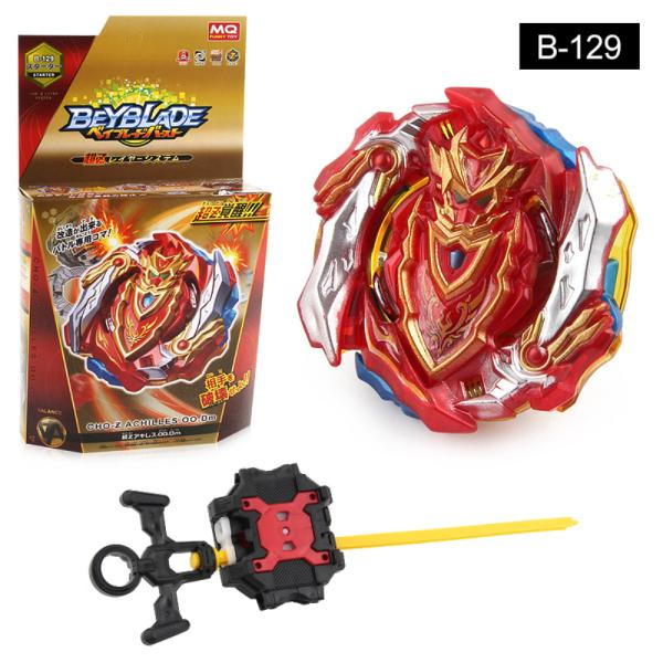 B-129 Beyblade Fighting Gyro Toy with Pull Rod Transmitter