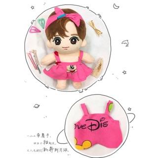 [Outfit Doll 20] Combo Váy Yếm Băng Đô