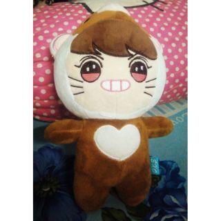 Gấu bông doll exo