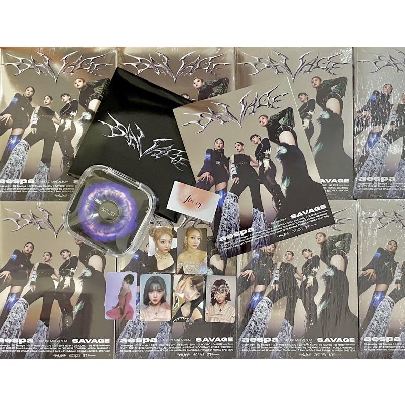 "Có sẵn The 1st mini album ""Savage"" -Aespa"