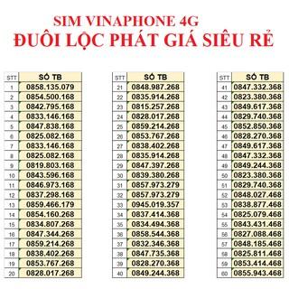SIM VINAPHONE 4G – ĐUÔI LỘC PHÁT THẦN TÀI GIÁ SIÊU RẺ ĐỒNG GIÁ 199K/SỐ