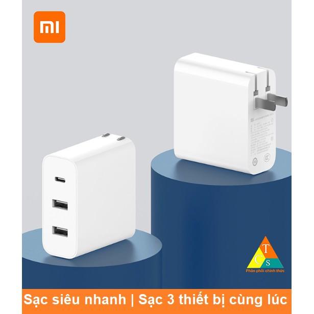 [Mã SKAMPUSHA7 giảm 8% đơn 250k]Củ sạc 65w 2A1C Xiaomi AD653 chuẩn PD 3 cổng - Cốc sạc nhanh Xiaomi AD653 3 cổng 65w