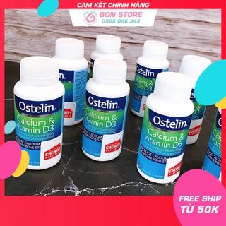 [TEM ĐỎ CHEMIST] Ostelin Calcium & Vitamin D3, bổ sung Canxi cho bà bầu 130 viên (Date mới nhất) – Xuất xứ Úc