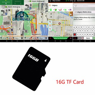 OM Car GPS Card Navigation Wince For Latest USA 16Gb Map SD