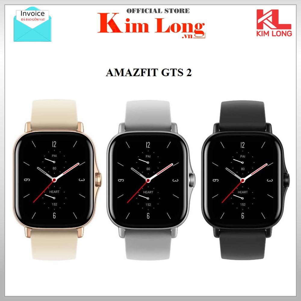 Đồng hồ thông minh Amazfit GTS 2 nghe gọi - Bảo hành chính hãng 12 Tháng