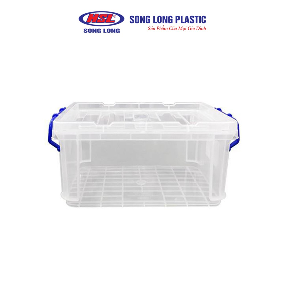 Bộ 2 hộp đựng thực phẩm nhựa có nắp Song Long Plastic đa năng - 2222