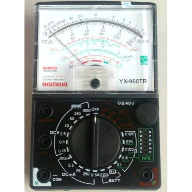Đồng hồ đo điện + pin