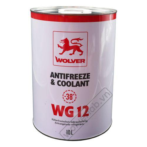 Nước mát WOLVER Ready to use G12 10L_ Nhập 100% Đức
