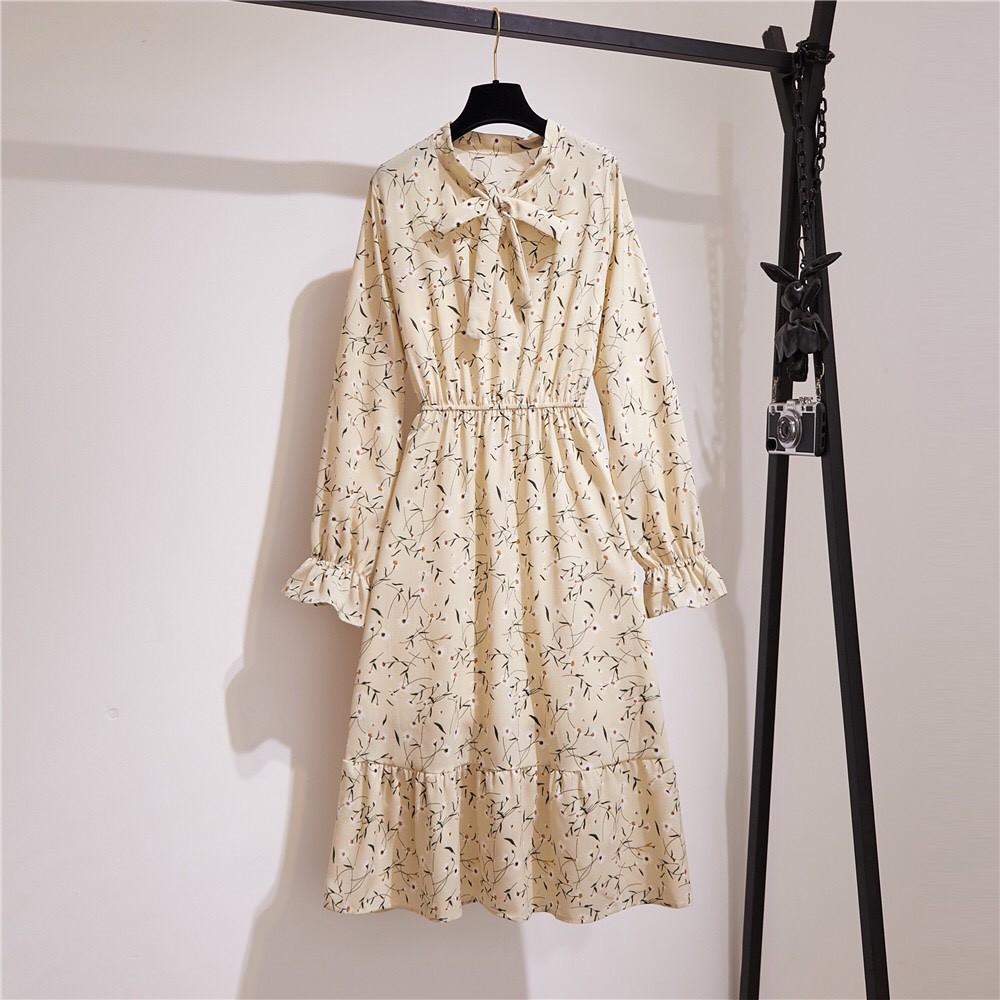 Váy Hoa Nhí 💖FREESHIP💖 Giảm 10k nhập mã [ VAY DAI ] 💖 Váy Vintage Hàn Quốc trẻ trung đáng yêu