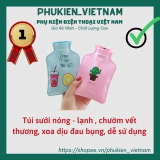 Túi Sưởi Chườm Nóng Lạnh Giữ Nhiệt Mini thumbnail