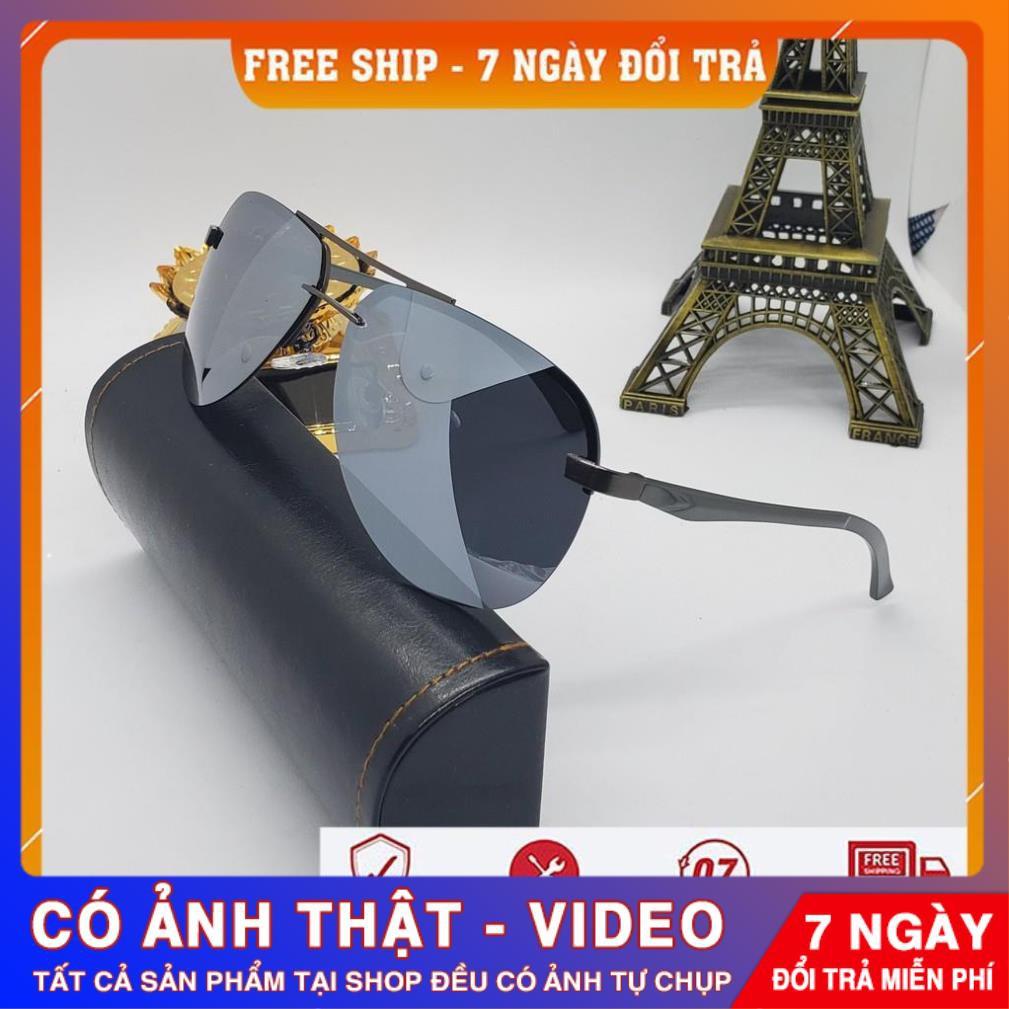 ❤️FREESHIP❤️Kính Râm Kính Mát Phân Cực 2020 Thời Trang Gọng Nhôm Magie Cho Nam Nữ Chống Tia UV400 (Hàng Nhập...