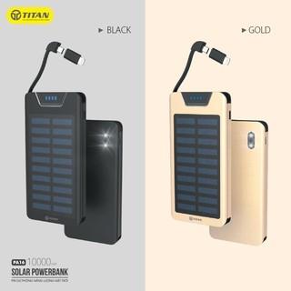 [Mã 159ELSALE hoàn 7% đơn 300K] Pin dự phòng năng lượng mặt trời TITAN PA16 -10.000mAh thumbnail