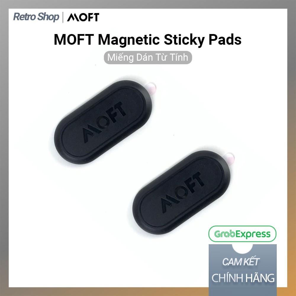 Combo 2 Miếng Hít Nam Châm Điện Thoại MOFT Magnetic Sticky Pads, Miếng Dán Từ Tính, Đế Hít Nam Châm Siêu Tiện Lợi