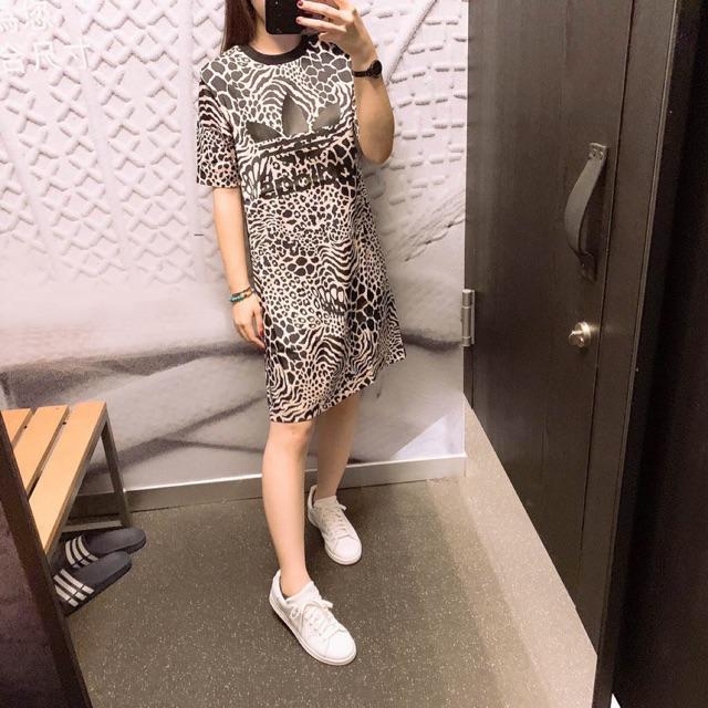 Váy adidas made in cambodia leopard dress Áo đôi