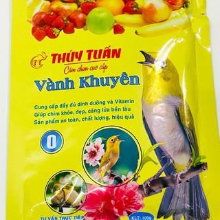 Cám chim khuyên Thúy Tuấn số 1 đóng gói cao cấp giá rẻ loại 100gram 3