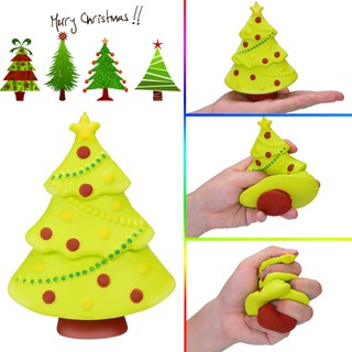 Squishy Anti-stress Christmas Tree Slow Rising Baby Kids Toys Stress Relief Toys