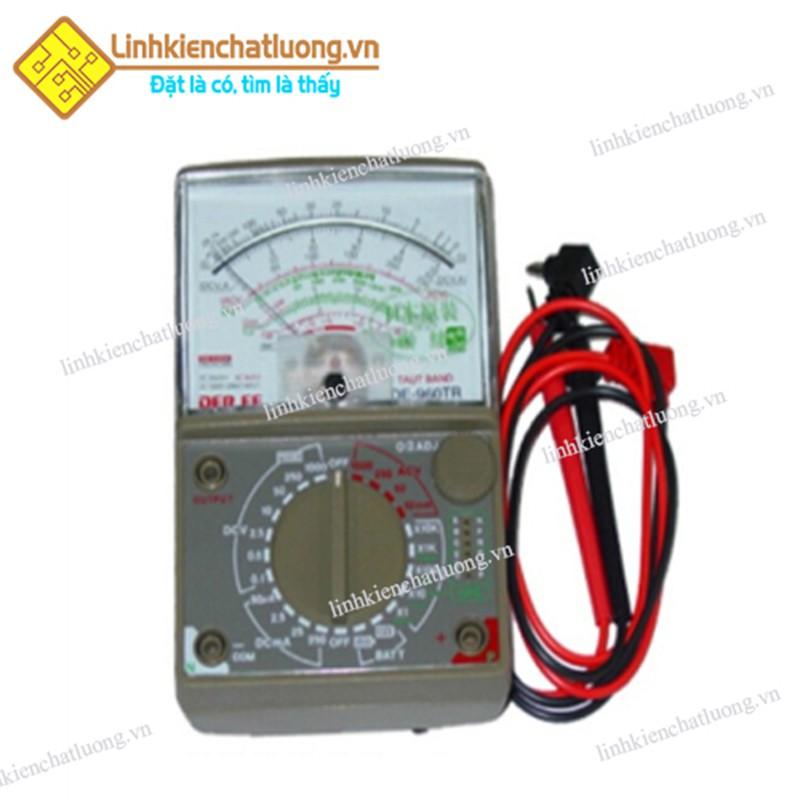 Đồng hồ vạn năng kim DE-960 không PIN