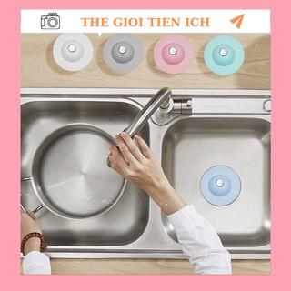 Nắp Đậy Cống Thoát Nước Bồn Rửa Chén phòng Tắm Tiện Lợi 88051 THÉ GIỚI TIỆN ÍCH thumbnail