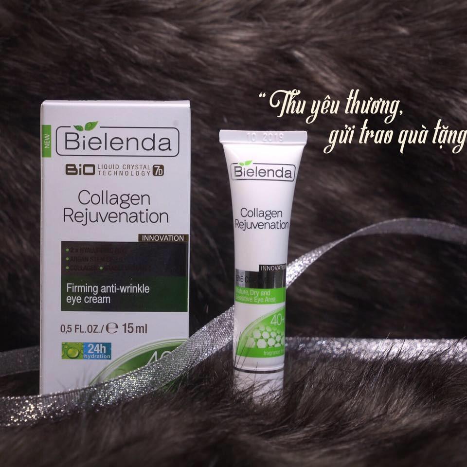 KEM MẮT bielenda 40+Bio 7D Collagen Rejuvenation - Firming 40+ Mã: 5902169011550