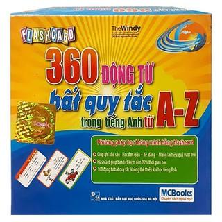 Flashcard - 360 Động Từ Bất Quy Tắc Trong Tiếng Anh Từ A - Z - MCBooks thumbnail