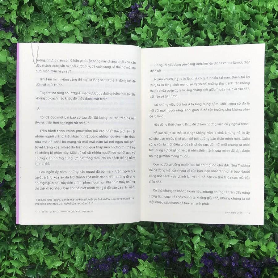 Sách - Sống Tốt Nhất Trong Những Ngày Đẹp Nhất