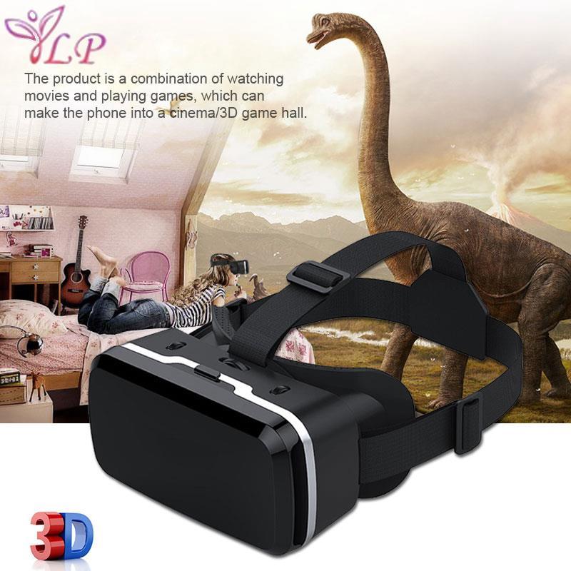LP Virtual Reality Glasses 3D VR Glasses 3D Games VR Headset Glasses Aspheric Lens