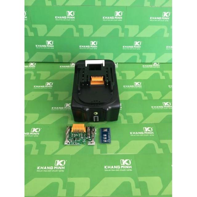 KM Vỏ và mạch pin Makita BL1830 18V zin Led báo pin, vỏ 2 hàng cell, mạch xanh nhận sạc zin. - 2942995 , 1167664596 , 322_1167664596 , 99000 , KM-Vo-va-mach-pin-Makita-BL1830-18V-zin-Led-bao-pin-vo-2-hang-cell-mach-xanh-nhan-sac-zin.-322_1167664596 , shopee.vn , KM Vỏ và mạch pin Makita BL1830 18V zin Led báo pin, vỏ 2 hàng cell, mạch xanh nhậ