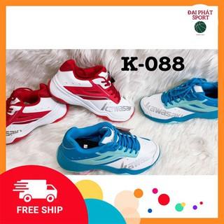 Giày Bóng Chuyền, Giày Cầu Lông Tặng Tất Yonex Kawasaki K063 chính hãng, phù hợp chơi thể thao ngoài trời