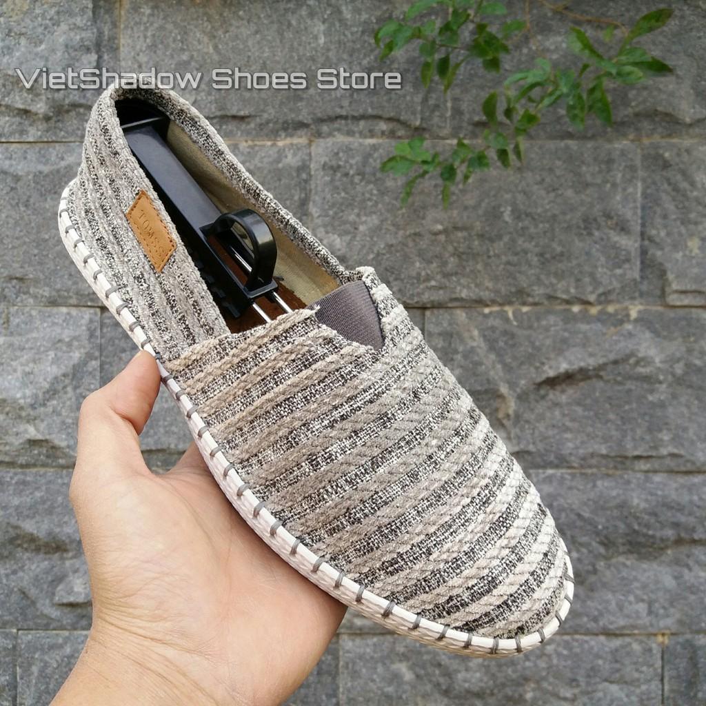 Slip on | giày lười vải nam đế khâu sọc nhung nổi mã ZR-s.n.rêu - 3029481 , 224300231 , 322_224300231 , 265000 , Slip-on-giay-luoi-vai-nam-de-khau-soc-nhung-noi-ma-ZR-s.n.reu-322_224300231 , shopee.vn , Slip on | giày lười vải nam đế khâu sọc nhung nổi mã ZR-s.n.rêu