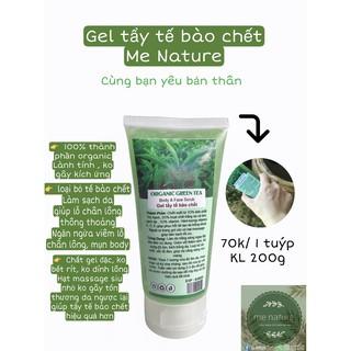 Gel tẩy tế bào chết cơ thể Me natutre Organic greentea 200g thumbnail