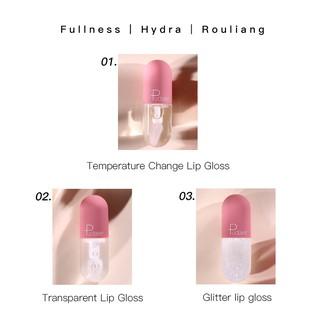 Son môi PUDAIER dạng lỏng thiết kế kiểu viên nang mini 3 màu tùy chọn 13g-1
